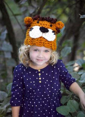 Lion Brand Wool-Ease Thick & Quick Lion Hat Digital Version