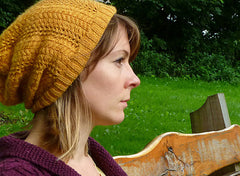 Autumn Gold in Fyberspates Scrumptious 4 Ply
