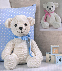 The Linnypin Collection by Twilleys - Cream Bear Crochet Kit