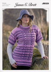 Sweater in James C. Brett Marble Chunky (JB029)