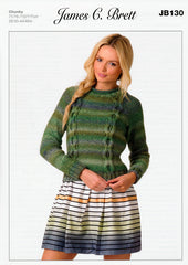 Sweater in James C. Brett Marble Chunky (JB130)