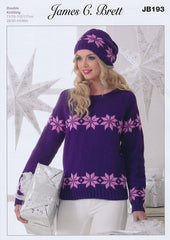 Sweater and Hat in James C Brett Top Value DK (JB193)