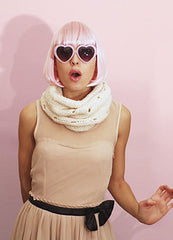 Creampuff Snood by We Are Knitters