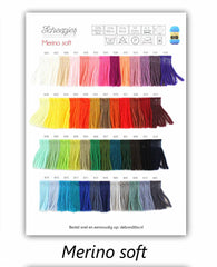 Scheepjes Merino Soft Shade Card