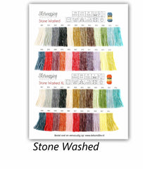 Scheepjes Stone Washed Shade Card