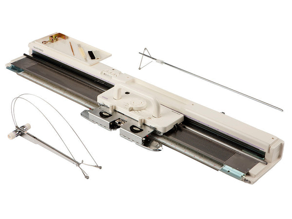 Silver SK830 Fine Gauge Electronic Knitting Machine - default