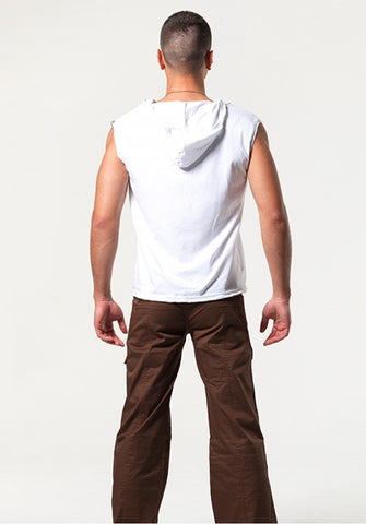 COULTON: LOW-RISE CARGO PANTS