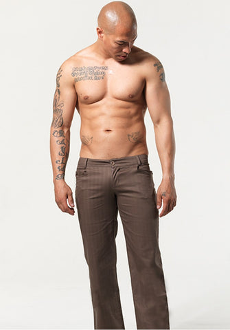 WILTON: LOW-RISE PANTS