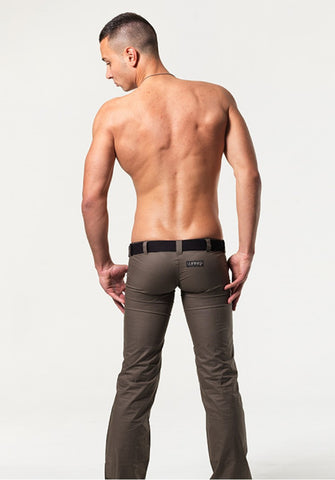 HOLT: ULTRA LOW-RISE PANTS