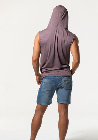 JESSON: SUPER LOW-RISE DENIM SHORTS