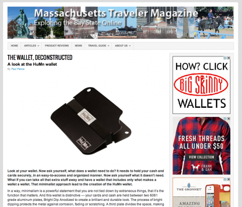 Massachusetts Traveler Magazine