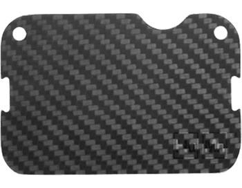 Carbon Fiber HuMn Mini RFID Blocking Plate