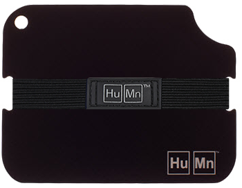 Black - HuMn Wallet 2 RFID Blocking