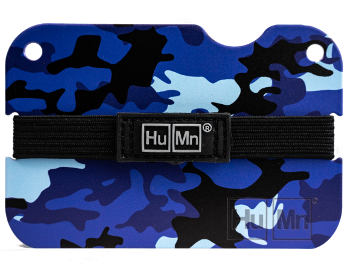 Blue Camo (NEW) - Special Edition HuMn Mini RFID Blocking