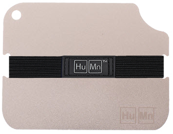 Clear (Silver) - HuMn Wallet 2 RFID Blocking