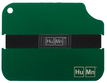 Green - HuMn Wallet 2 RFID Blocking