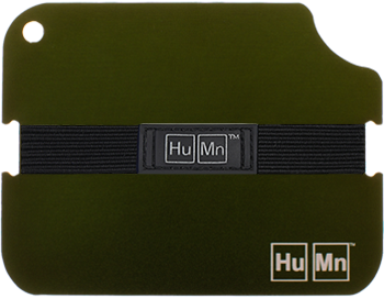 Olive - HuMn Wallet 2 RFID Blocking