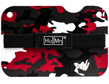 Red Camo (NEW)- Special Edition HuMn Mini RFID Blocking