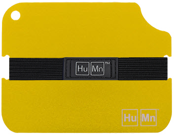 Yellow - HuMn Wallet 2 RFID Blocking