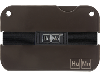 Brown - Blemished HuMn Mini RFID Blocking