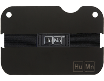 Matte Black - Blemished HuMn Mini RFID Blocking