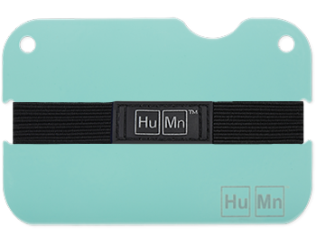 Powder Blue - HuMn Mini RFID Blocking