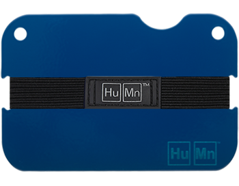 Royal Blue - Blemished HuMn Mini RFID Blocking