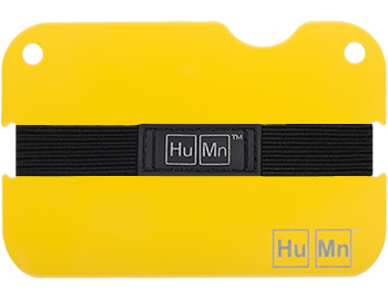 Yellow - HuMn Mini RFID Blocking