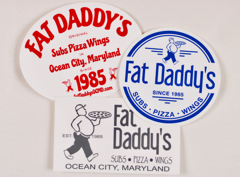 Fat Daddy's Sticker Pack