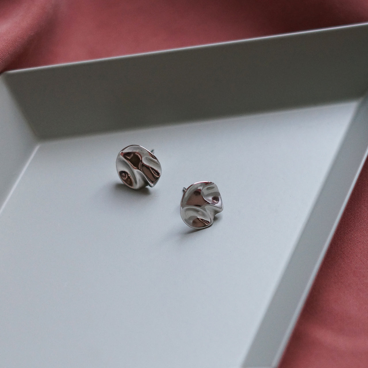 EARRINGS #01 (SILVER) - KNOK STORE