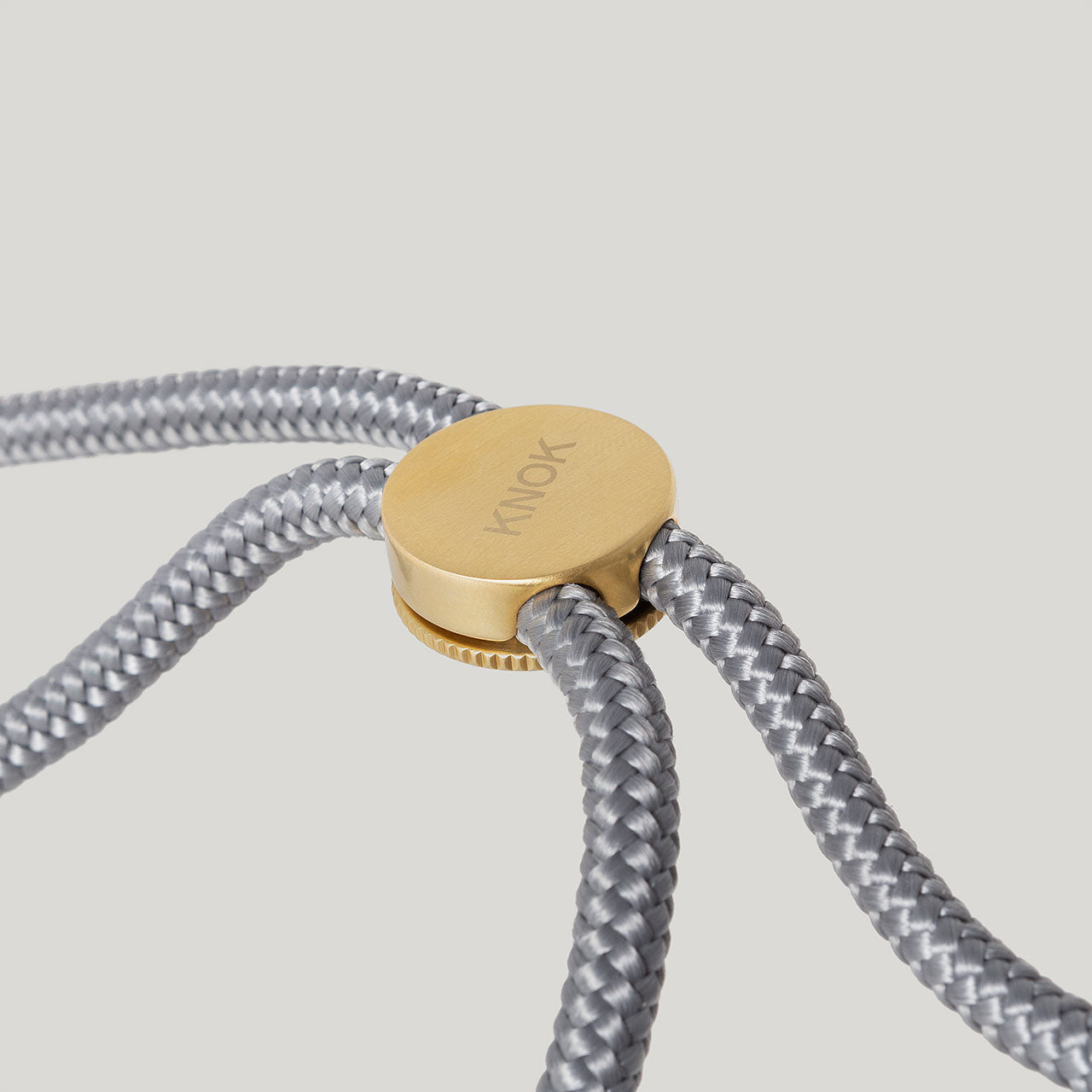 KNOK CASE -  Smartphone necklace -CUSTOM CORD (GREY)