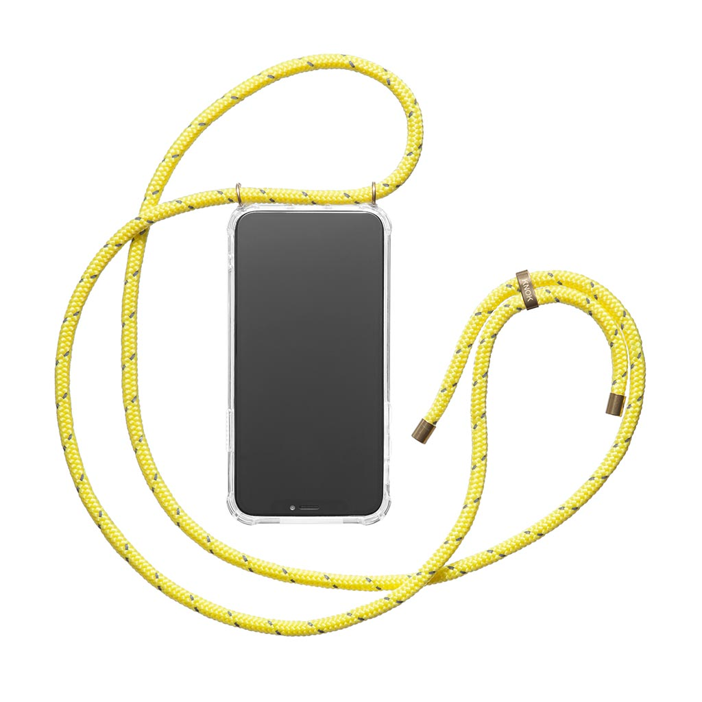 KNOK CASE - Handykette - YELLOW REFLECT - KNOK STORE