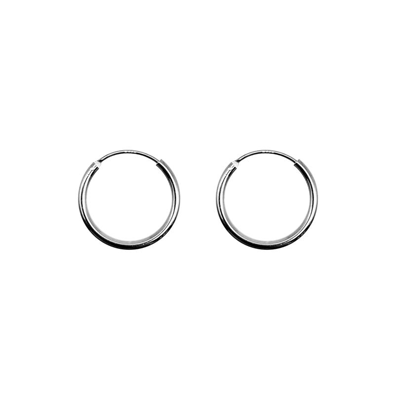 925 Sterling Silver HOOP earing in Small -KNOK STORE