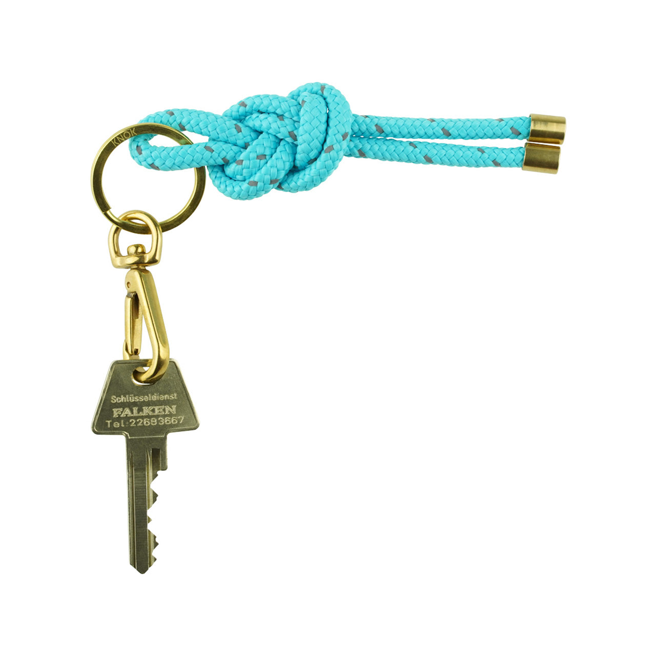 KNOK-KEY-KNOT-TURQUOISE reflect
