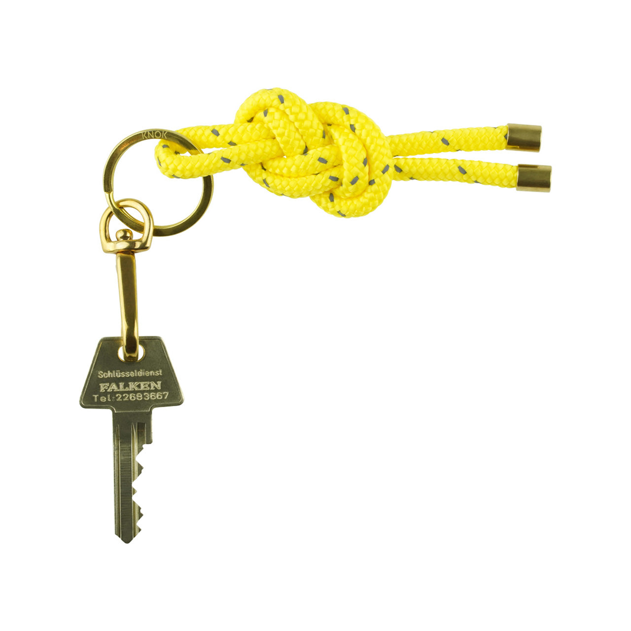 KNOK-KEY-KNOT-Yellow reflect