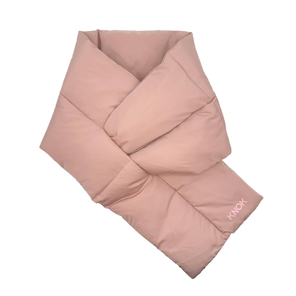 PADDED SCARF (NUDE)