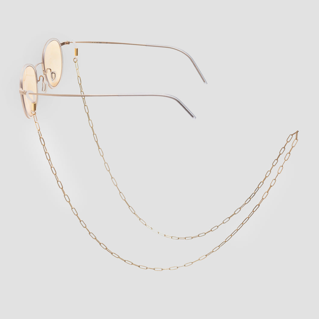 ITDA GLASSES CHAIN (GOLD) - KNOK