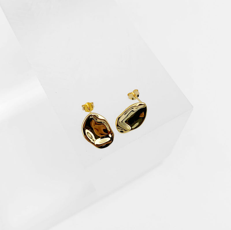 Earrings #002 18K Gold - KNOK STORE