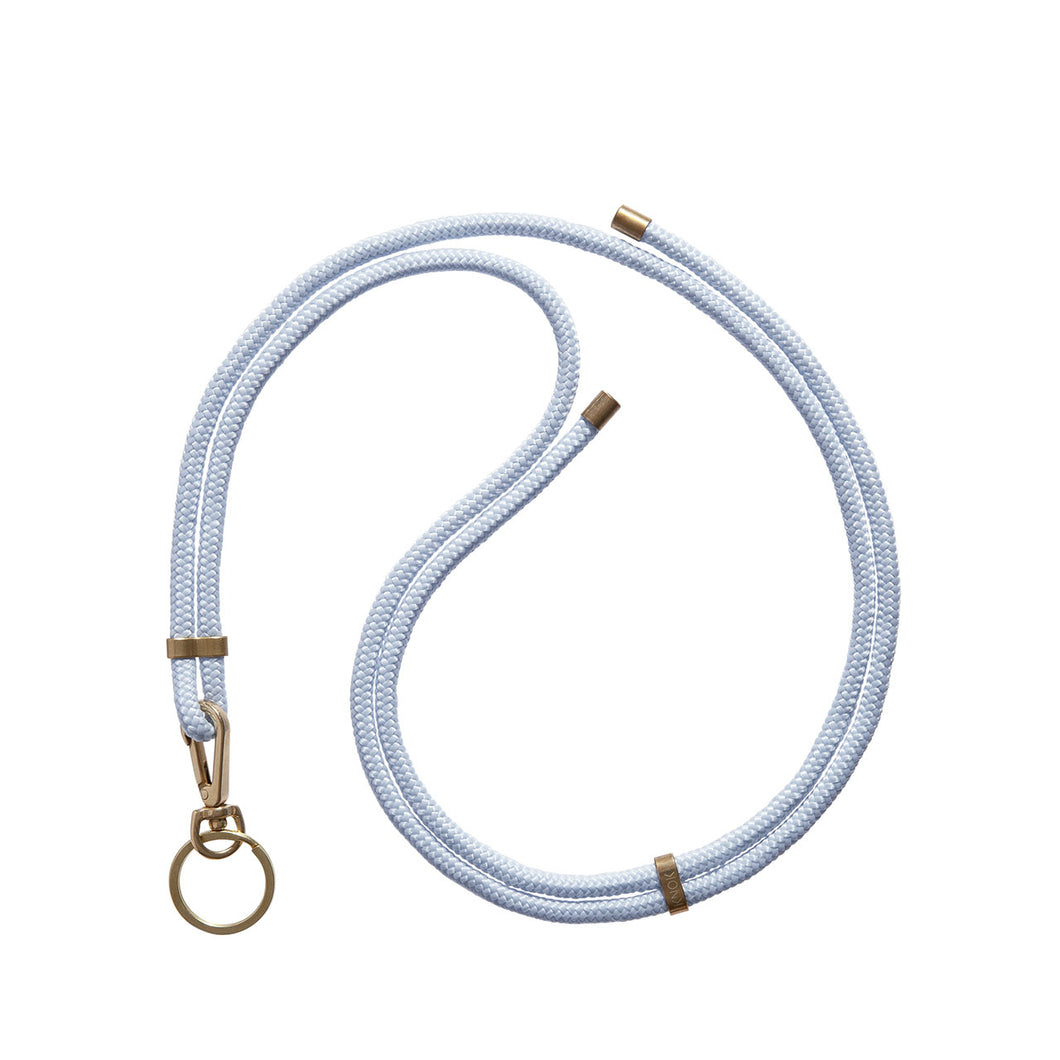 KNOK Key Holder Lanyard in baby blue