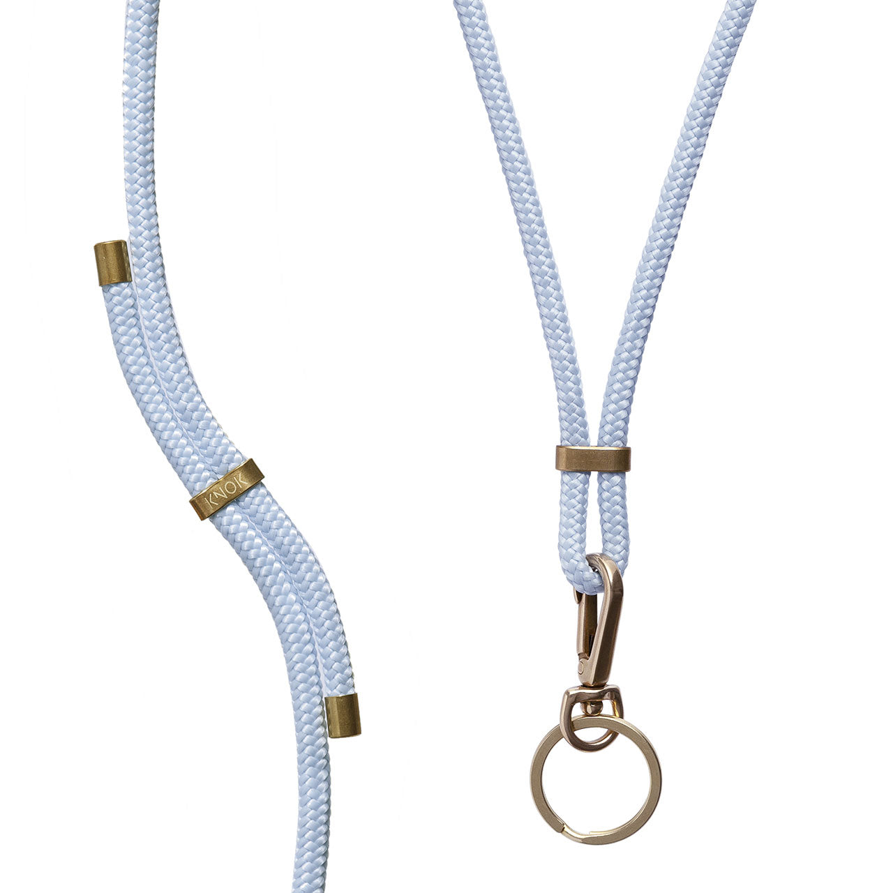 KEY HOLDER (BABY BLUE) - KNOK STORE