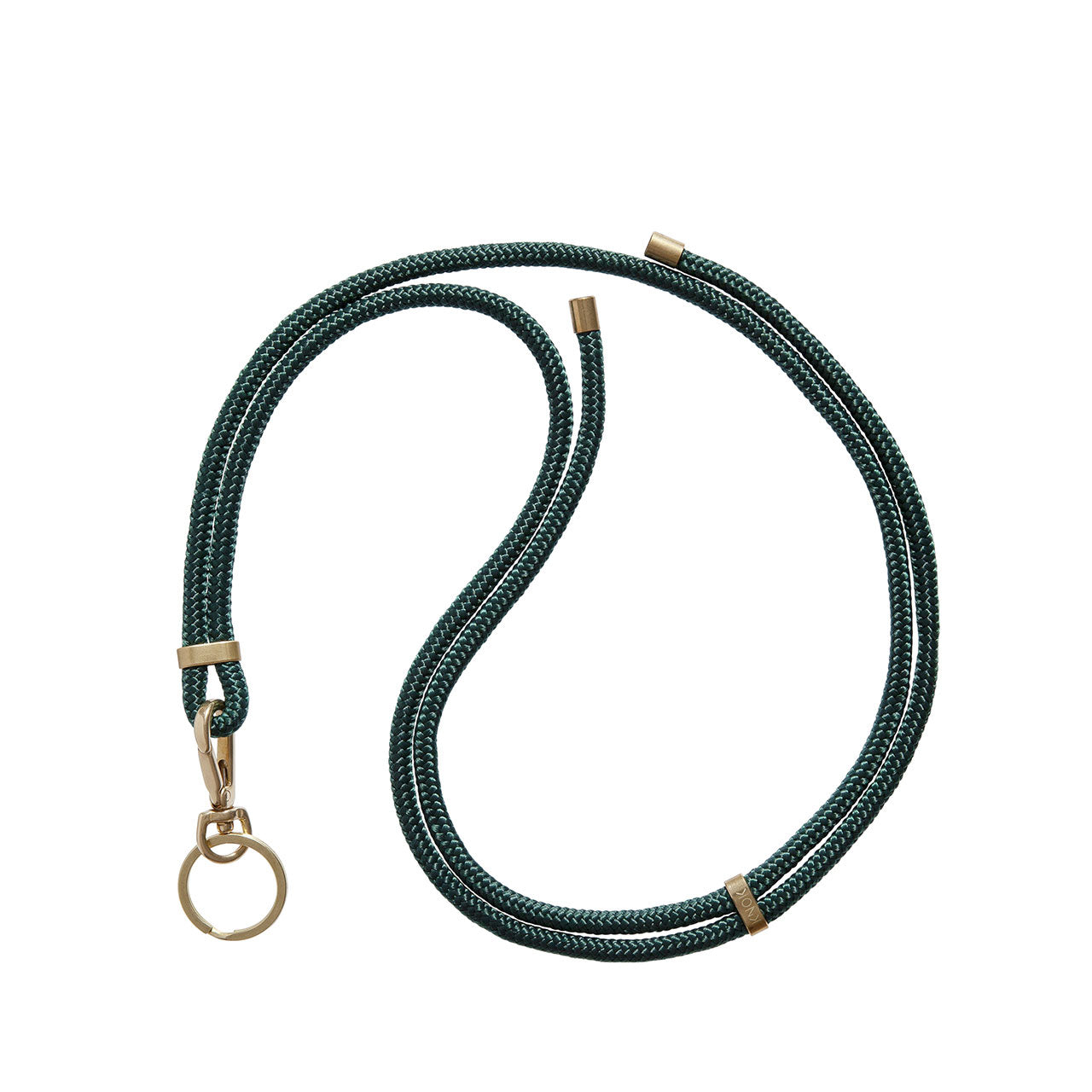 KNOK Key Holder Lanyard in forest green
