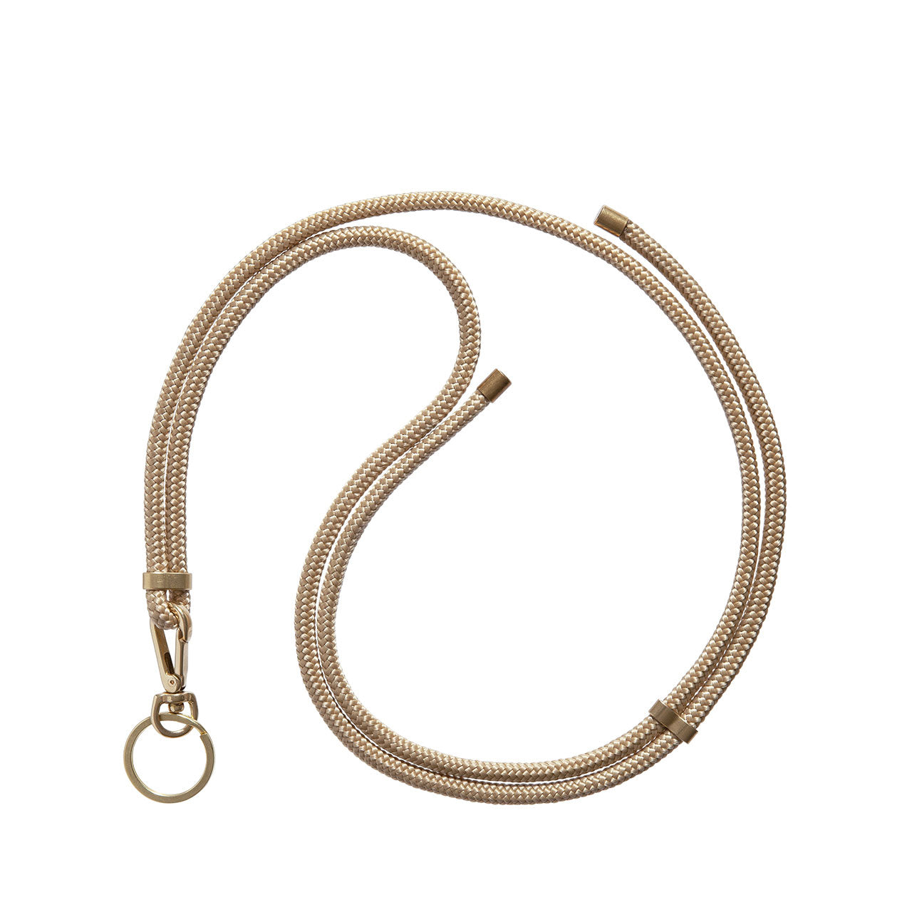 KNOK Key Holder Lanyard in gold
