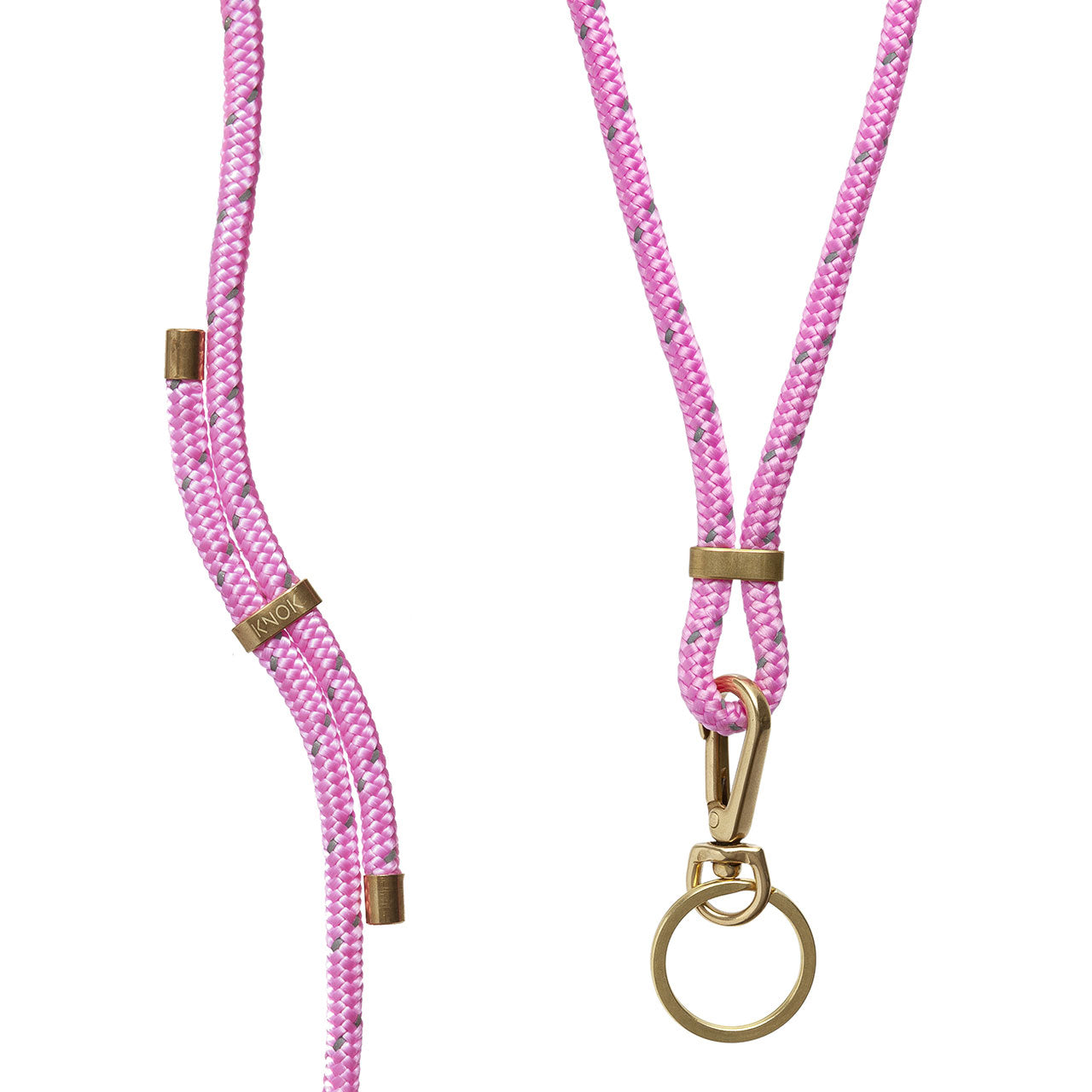 KEY HOLDER (PINK REFLECT) - KNOK STORE