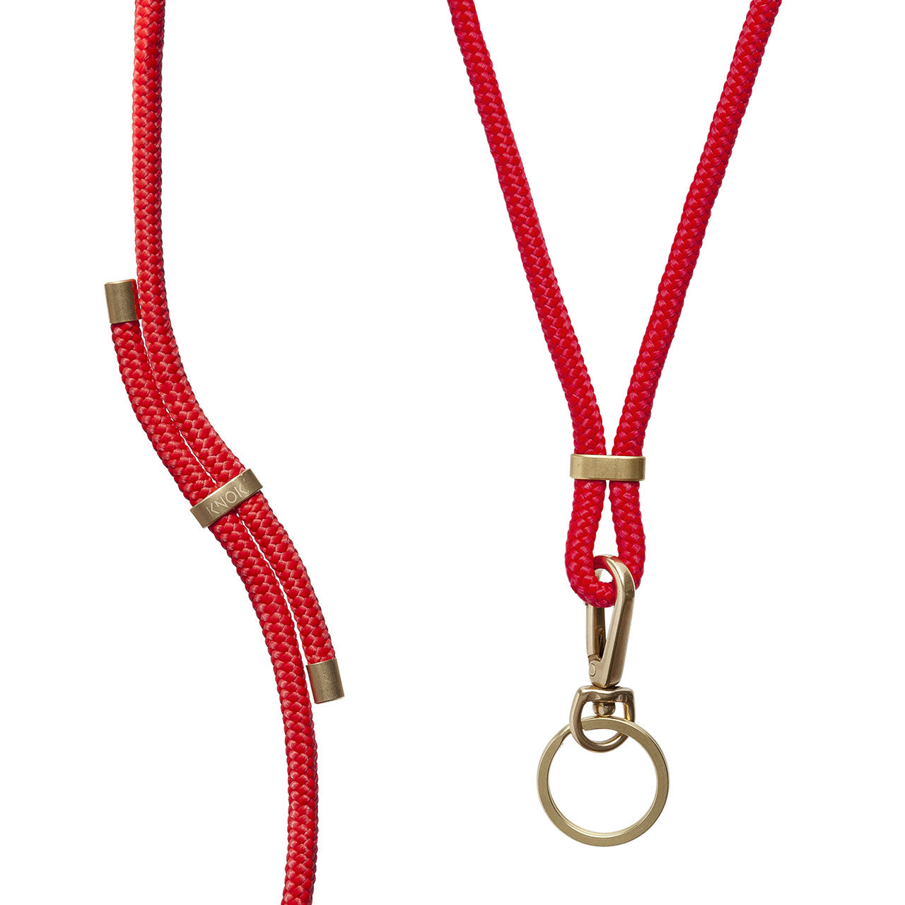 KEY HOLDER (RED) - KNOK STORE