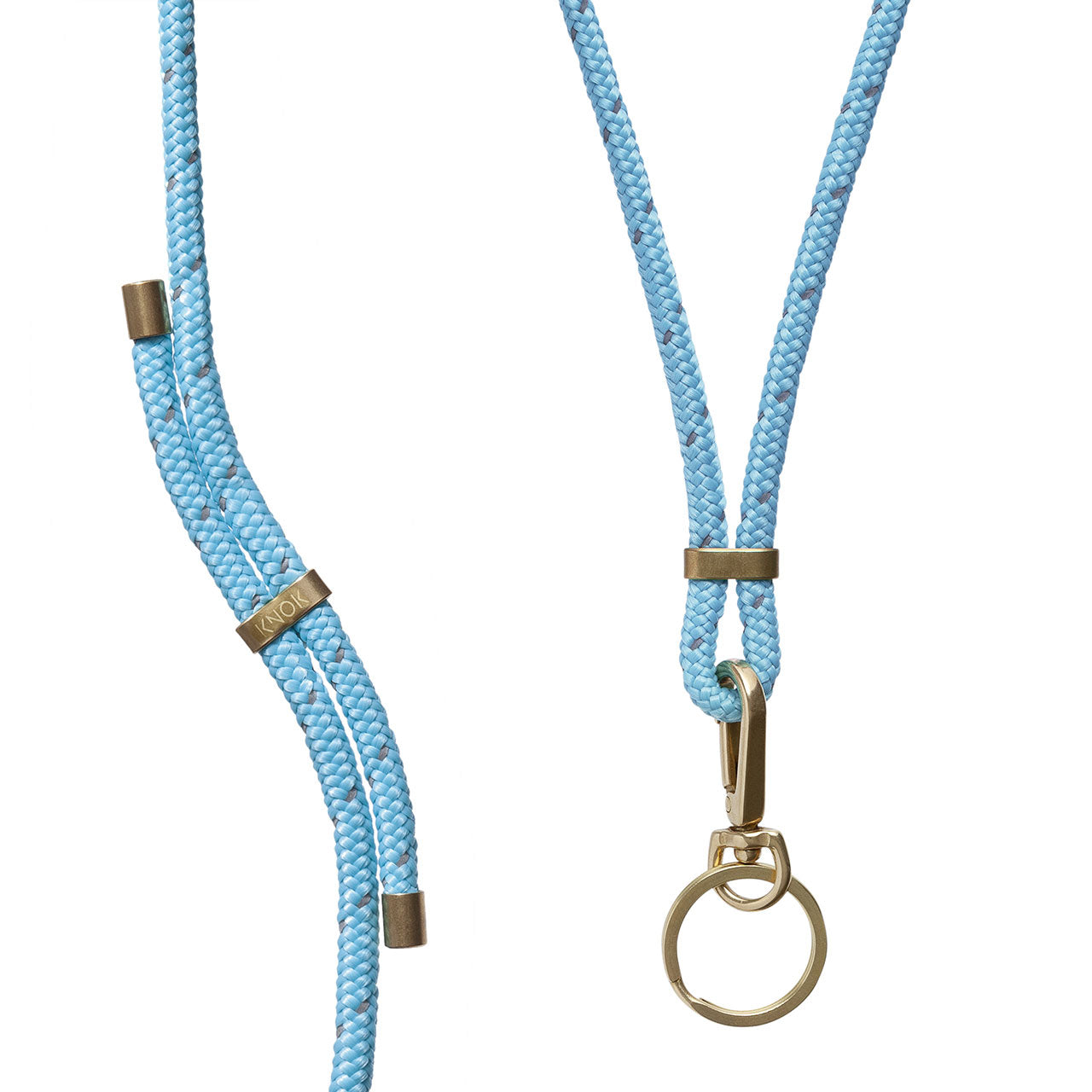 KEY HOLDER (TURQUOISE REFLECT) - KNOK STORE