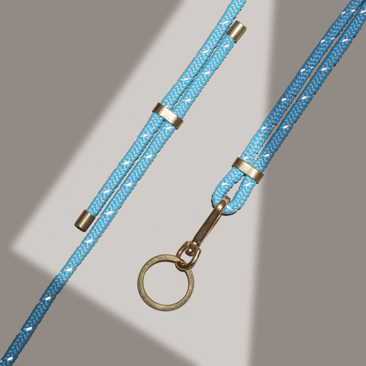 KEY HOLDER (TURQUOISE REFLECT)