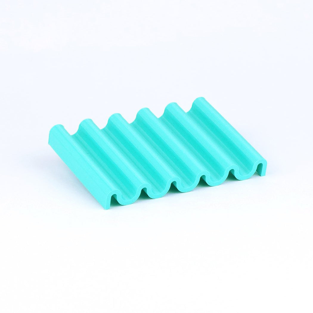 WIGGLE SOAP DISH (TURQUOISE)