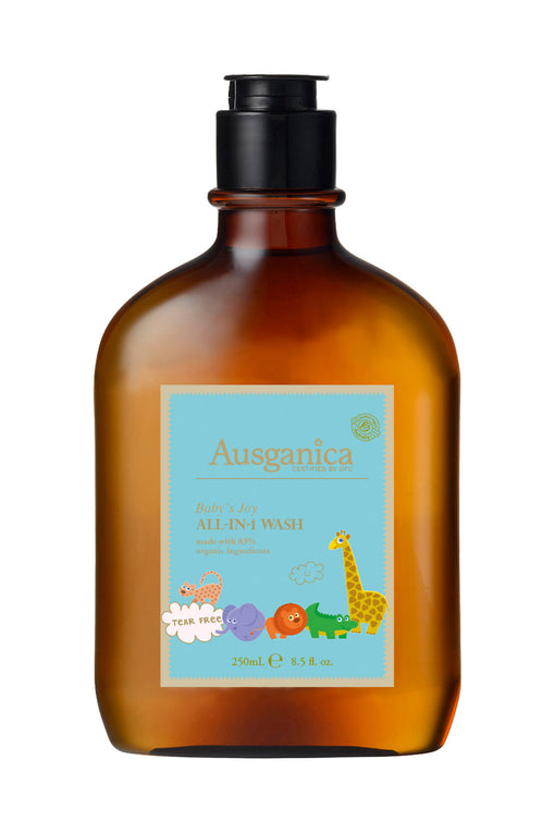 Baby's Joy all in one organic baby wash