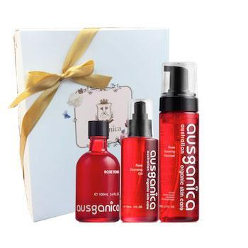 Rose 3-in-1 Cleanse and Tone Gift Set