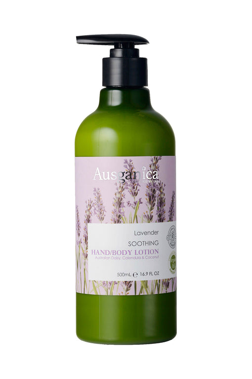 Lavender Soothing Organic Hand and Body Lotion